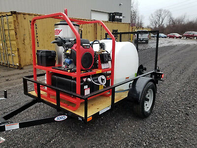 Hotsy 1270SS Pressure Washer Trailer Build
