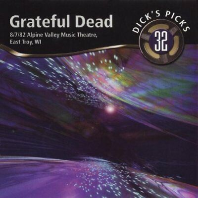 Grateful Dead-8/7/82 Alpine Valley Music Theatre, East Troy, WI CD NEW