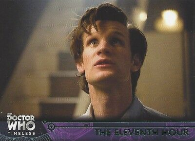 GREEN Parallel 70 The Eleventh Hour 11th Doctor Who Timeless 2016 Topps Smith