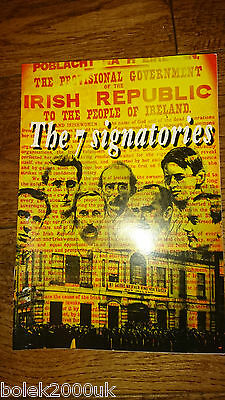 The 7 Signatories Irish Easter Rising Sinn Fein Publication Ireland