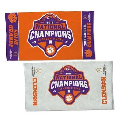 Clemson Tigers 2018-2019 Football National Champions WinCraft Locker Room Towel