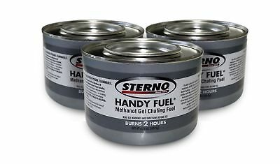 12 pk Cans handy Fuel Methanol Gel STERNO Chafing Fuel Cooking Fuel 7oz 2.5 hrs