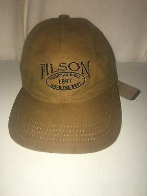 New Filson Made In Usa Tin Cloth Low Profile Cap M 1St Quality