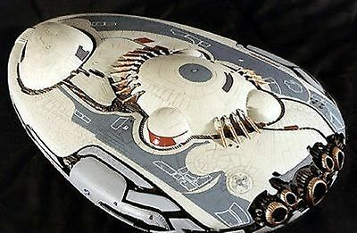 Jupiter-2 Jedi Vessel Lost in Space Spacecraft Mahogany Dried Wood Model Large