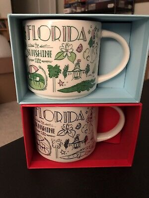 STARBUCKS City Mugs - BEEN THERE SERIES - **NEW RELEASE** collection FLORIDA