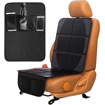 Car Seat Protector + Backseat Organizer Durable Quality Seat Covers, Travel