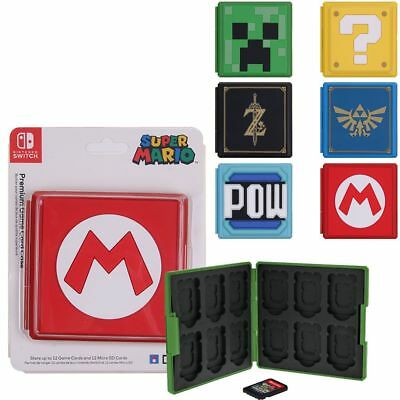 For Nintendo Switch Game Card Case Holder Storage Box Carry Protector Cover US