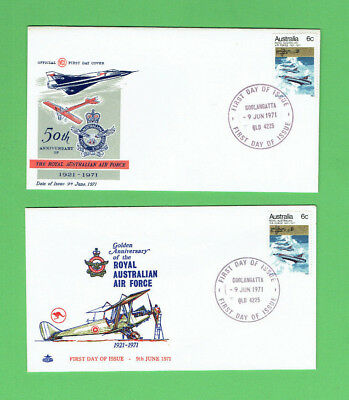 #D356.  Two 1971 Royal Australian Air Force First Day Covers