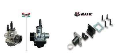 Carburettor Dell'orto Phbg 21 Ds + Manifold Malossi Reed And Yamaha Dt R/x
