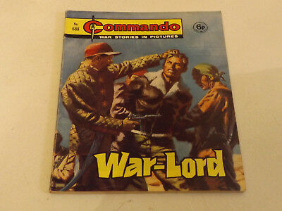Commando War Comic Number 688 !,1972 Issue,v Good For Age,47 Years Old,very Rare