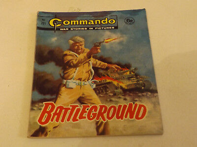 Commando War Comic Number 701 !,1972 Issue,v Good For Age,47 Years Old,very Rare