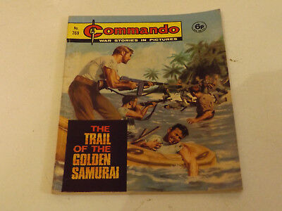 Commando War Comic Number 769 !,1973 Issue,good For Age,46 Years Old,very Rare