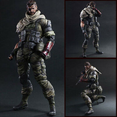 Play Arts Kai Metal Gear Solid V The Phantom Pain Venom Snake Action Figure Toy