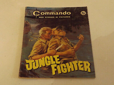Commando War Comic Number 799 !,1973 Issue,good For Age,46 Years Old,very Rare