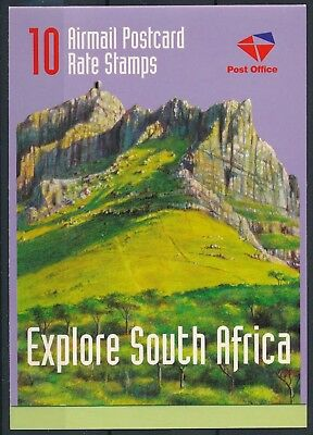 [H15133] South Africa 1998 TOURISM - AIRMAIL Good complete booklet very fine MNH