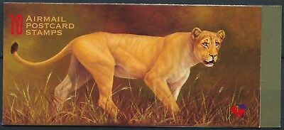 [H15283] South Africa 1998 WILD ANIMALS Good complete booklet very fine MNH