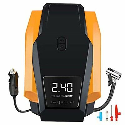 Tire Inflator, Portable Air Compressor Pump, 12V DC Auto Tire Pump with Digital