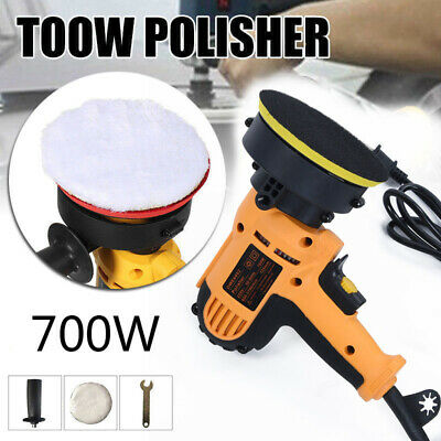700W Electric Variable Speed Car Polisher Buffer Waxer Sander Detail Boat New UK