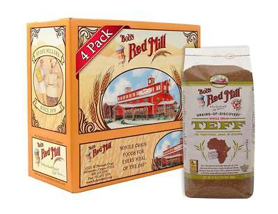 Bob's Red Mill Whole Grain Teff 24ounce Pack of 4 ...