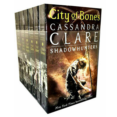Cassandra Clare Mortal Instruments 6 Books set Collection Shadow hunters New PB