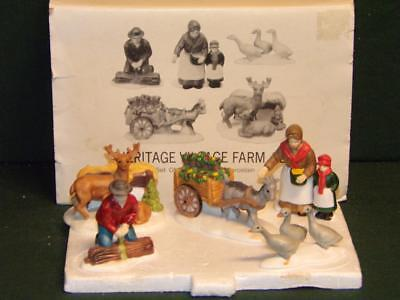 Dept 56-Farm People and Animals Set of 5 – 5901-3 Department 56