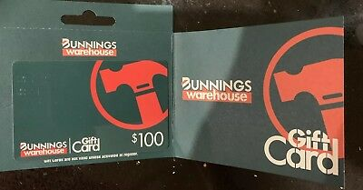 $100 Bunnings Warehouse Gift Card