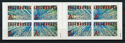 [HG20546] Luxembourg 2000 : Good Very Fine Adhesive Complete Booklet