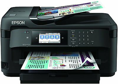 Epson WF-7715 Wireless All in One A3 Printer With Ink Scanner Copier Fax Wifi