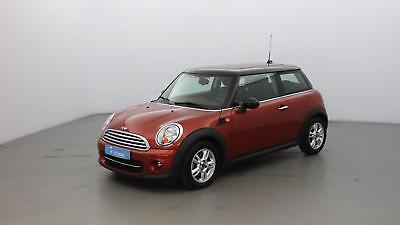 Mini Mini Cooper D 112ch Red Hot Chili +GPS +Toit Ouvrant