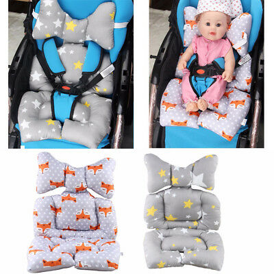 Baby Stroller Seat Padding Pram Liner Pad Cushion Mattress Thick Cover Safe Soft