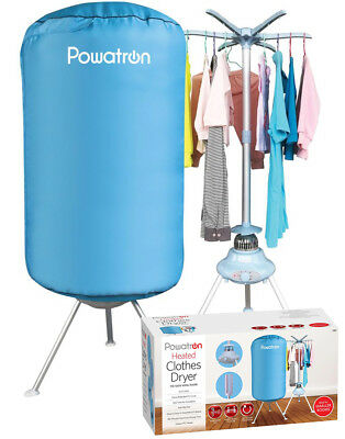 Portable Electric Clothes Dryer Indoor Home Dorms Buddy Best Hot Air Machine Dry