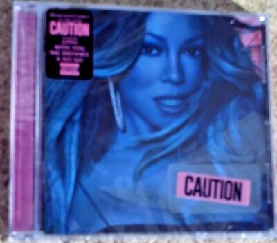 Mariah Carey Caution CD (Explicit) Version sealed new music 2018 free shipping