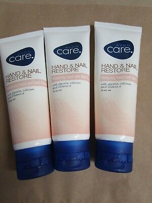 Avon Care Restoring Hand and Nail Cream (set of 3)