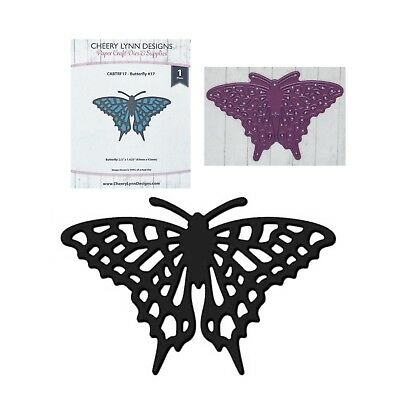 Cheviot Butterfly 1024 Thin Metal cutting die Poppystamps dies Animals,insects