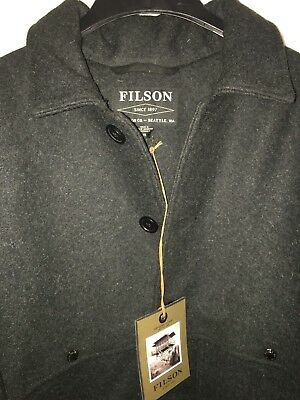 New Filson Made In Usa Double Mackinaw Cruiser 48 $495 Alaska Fit 1St Quality