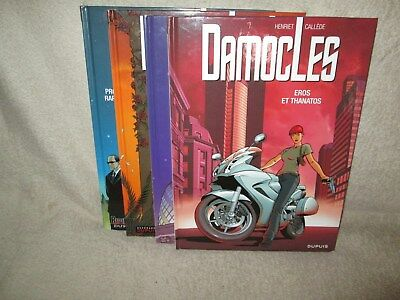 Lot integrale Damocles 4 tomes E.O