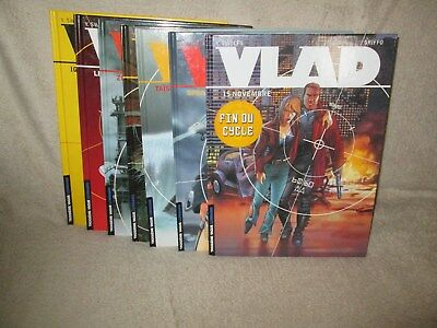 Lot integrale Vlad 7 tomes E.O
