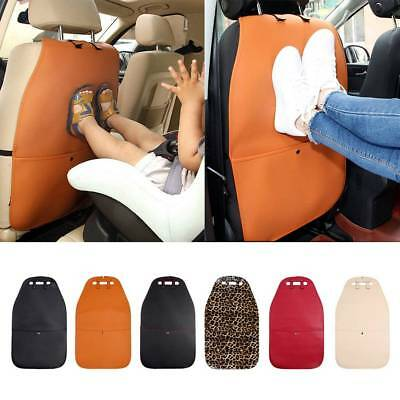 UK Car Baby Seat Back Protector Cover Children Kick Mat Mud Clean Cushion Padded
