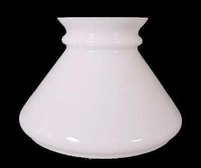 White Milk Glass 6 inch Student Lamp Shade Desk Table Pole Wall Chandelier Light