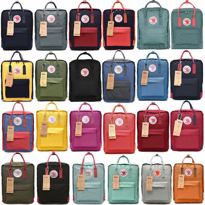 Fjallraven Kanken Waterproof sport Backpack Classic School Bag Travel 16L