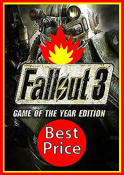 """Fallout 3: Game of the Year Edition Goty """" PC BRAND NEW GLOBAL STEAM KEY """""""