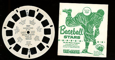 View Master-# 727-Baseball Stars of the Major Leagues-# 3