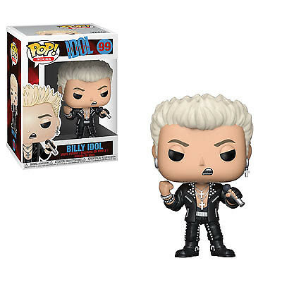 Funko Pop! Rock: Billy Idol + FREE GITD FUNKO SIGN - PRE-ORDER