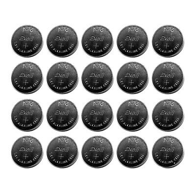 20x Exell A76 1.5V  LR44 Alkaline Watch Battery AG13 FAST USA SHIP