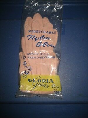 Vintage Gloria Gloves - Pink - Made In Japan