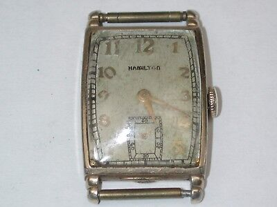 Hamilton Model 980 Men's 17 Jewel YGF Wristwatch. 28A