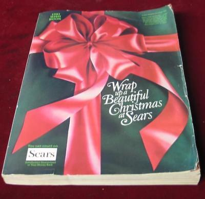 Vintage 1981 Sears Roebuck & Company Christmas Wishbook Catalog
