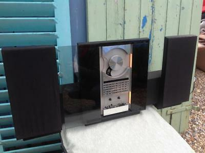 B&O Bang And Olufsen Beosystem 2500 With Beolab 2500 Speakers & Bracket Mount