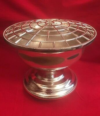 Vintage Silver Plated Rose Bowl c.1980's