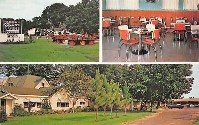 Fitzgerald Georgia GA 1960s Postcard Fitzgerald Colony Court & Restaurant